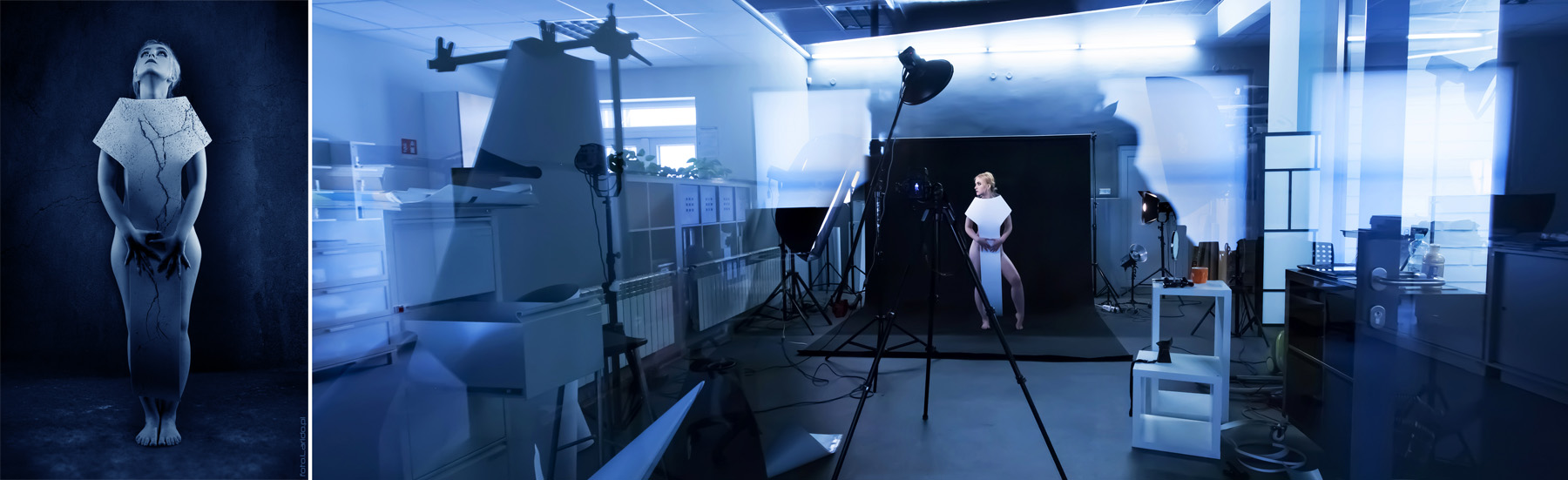 backstage - fotografia portretowa w studio