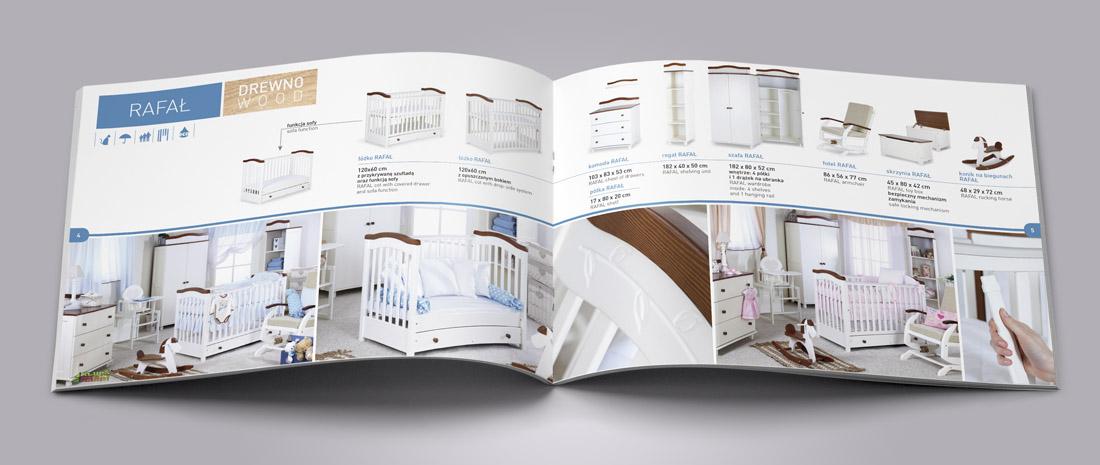 Katalog produktów - łóżeczka dziecięce