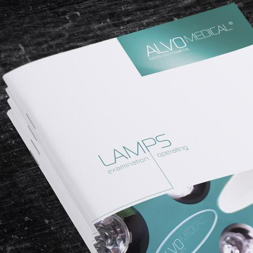 Lampy medyczne - folder informacyjny