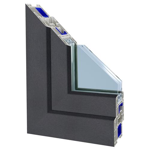 Profile okienne 3D