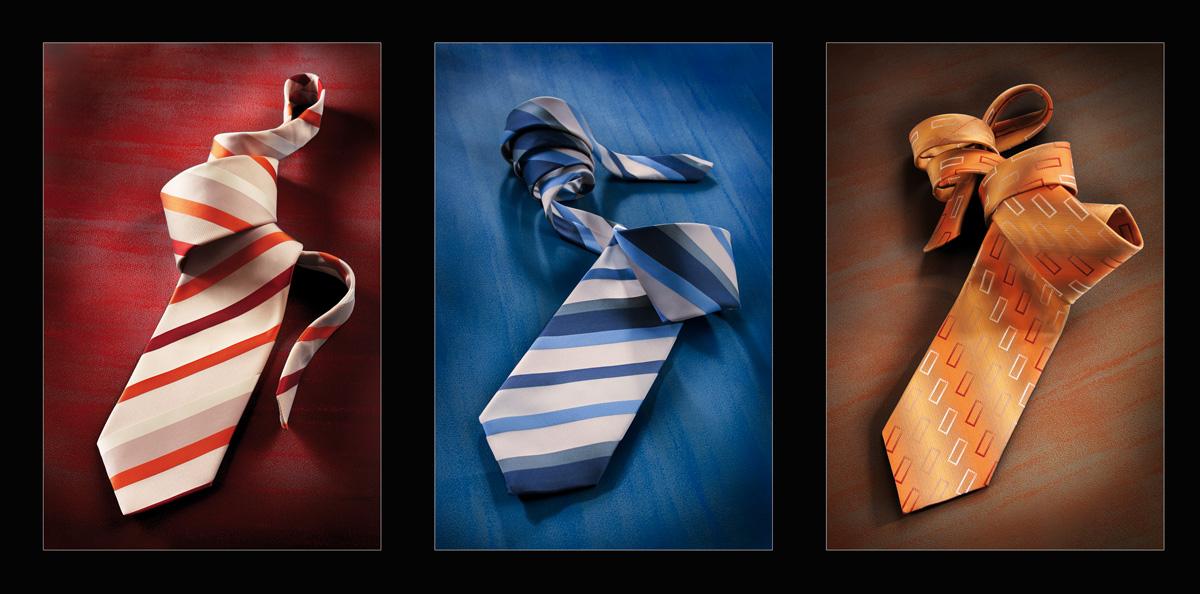Krawat - fotografia reklamowa
