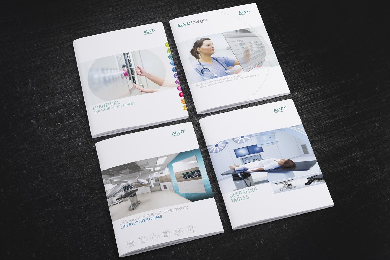 Katalogi producenta wyposażenia obiektów medycznych