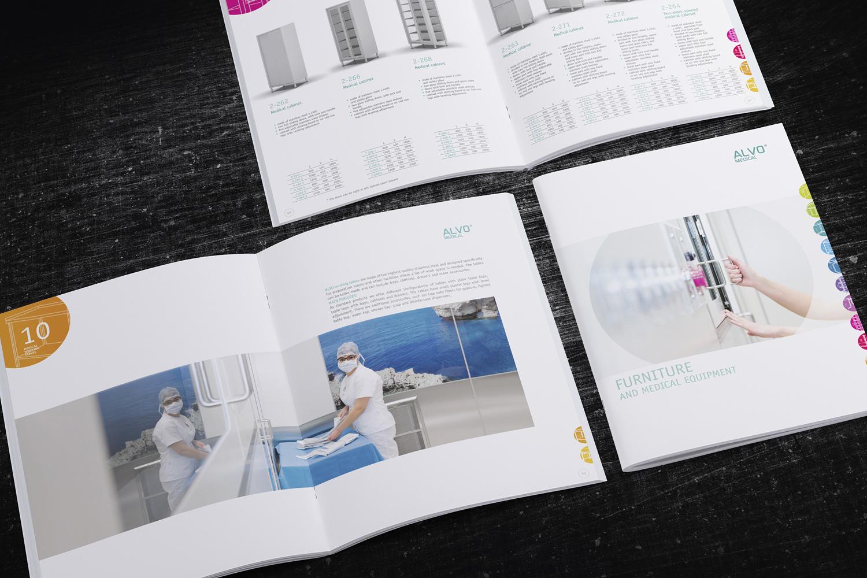 Katalogi dla producenta wyposażenia obiektów medycznych