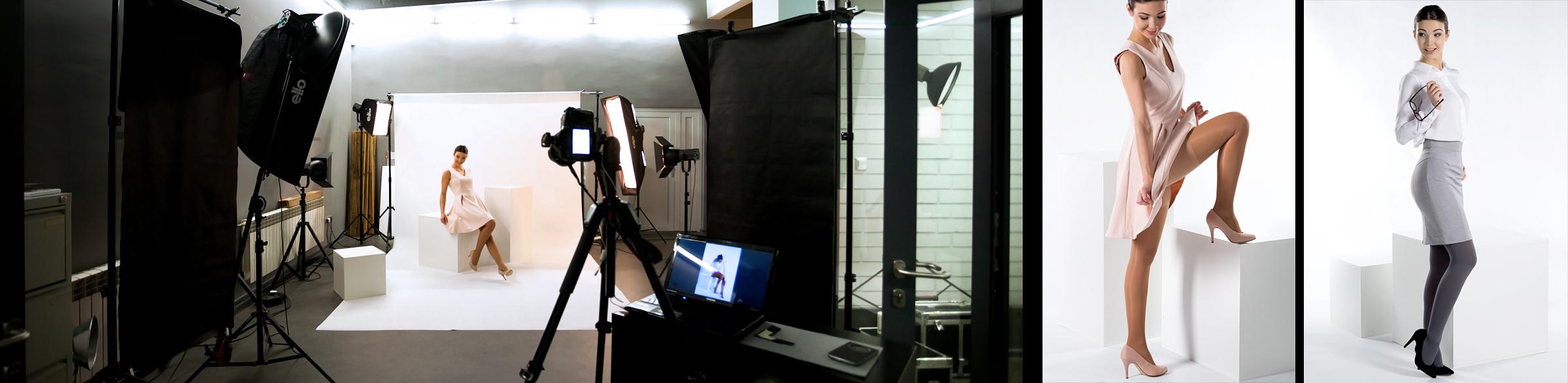 Studio Larido - backstage - - - sesja dla producenta uciskowej bielizny medycznej