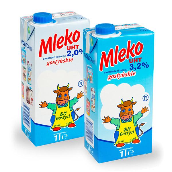 Fotografie produktowe mleka w kartonikach