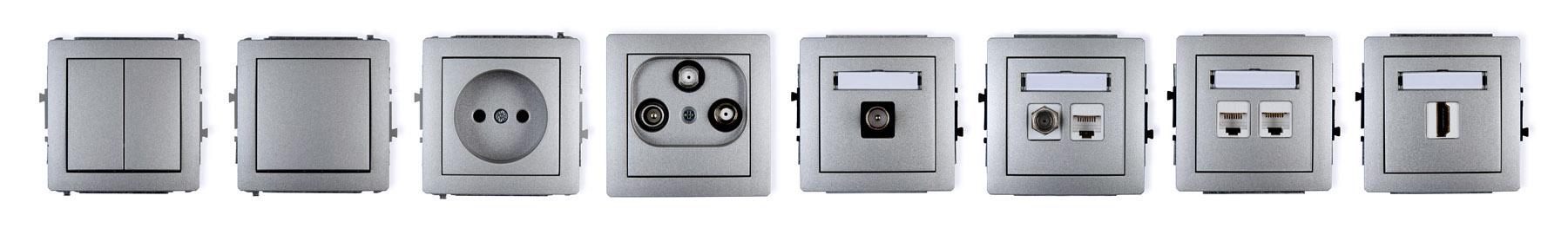 fotografie - łączniki elektryczne