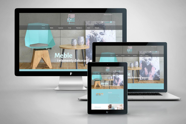 strona internetowa - pełny ekran