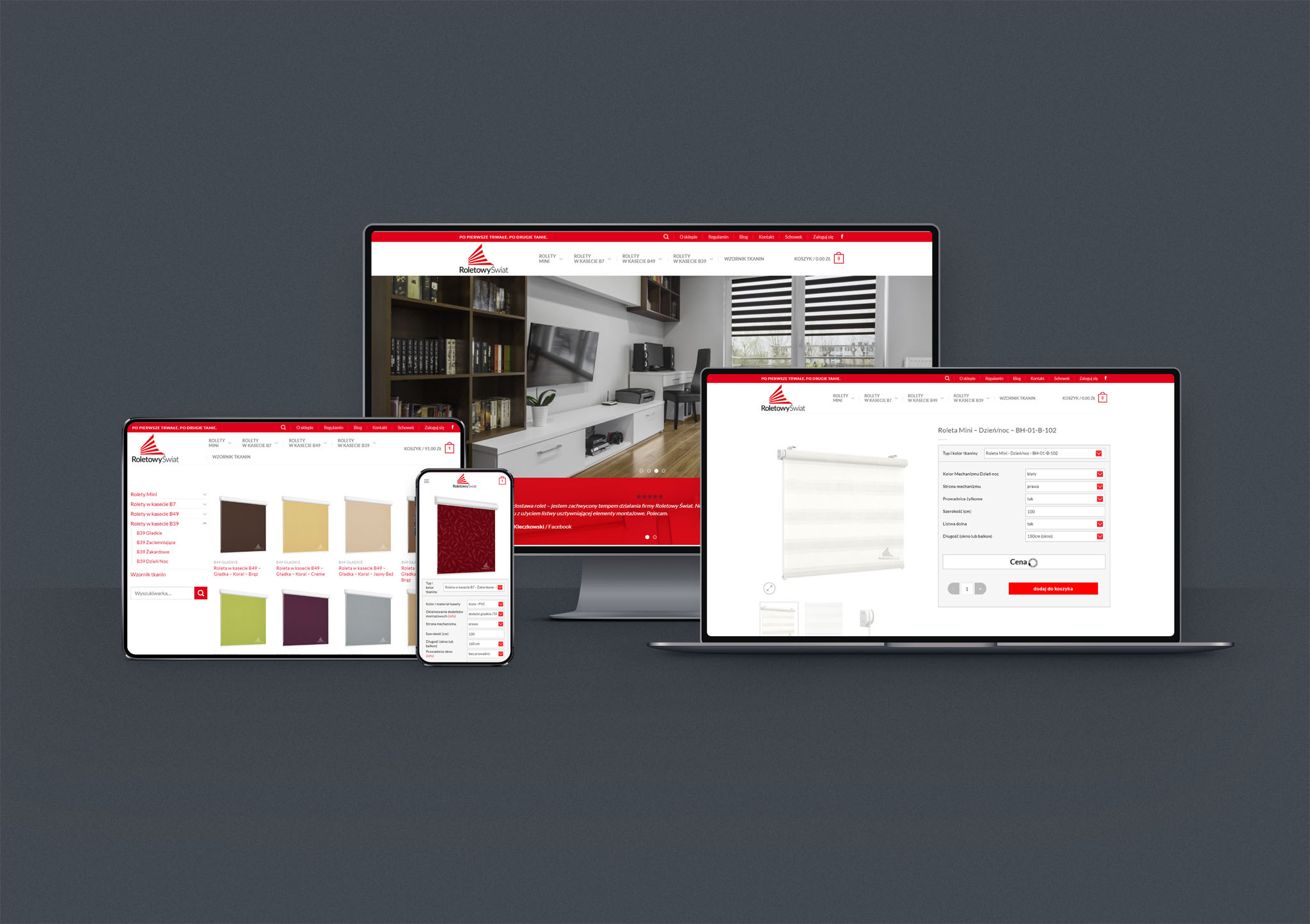 projekt i wdrożenie sklepu internetowego