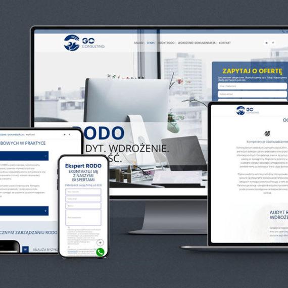 strona internetowa dla firmy na telefon