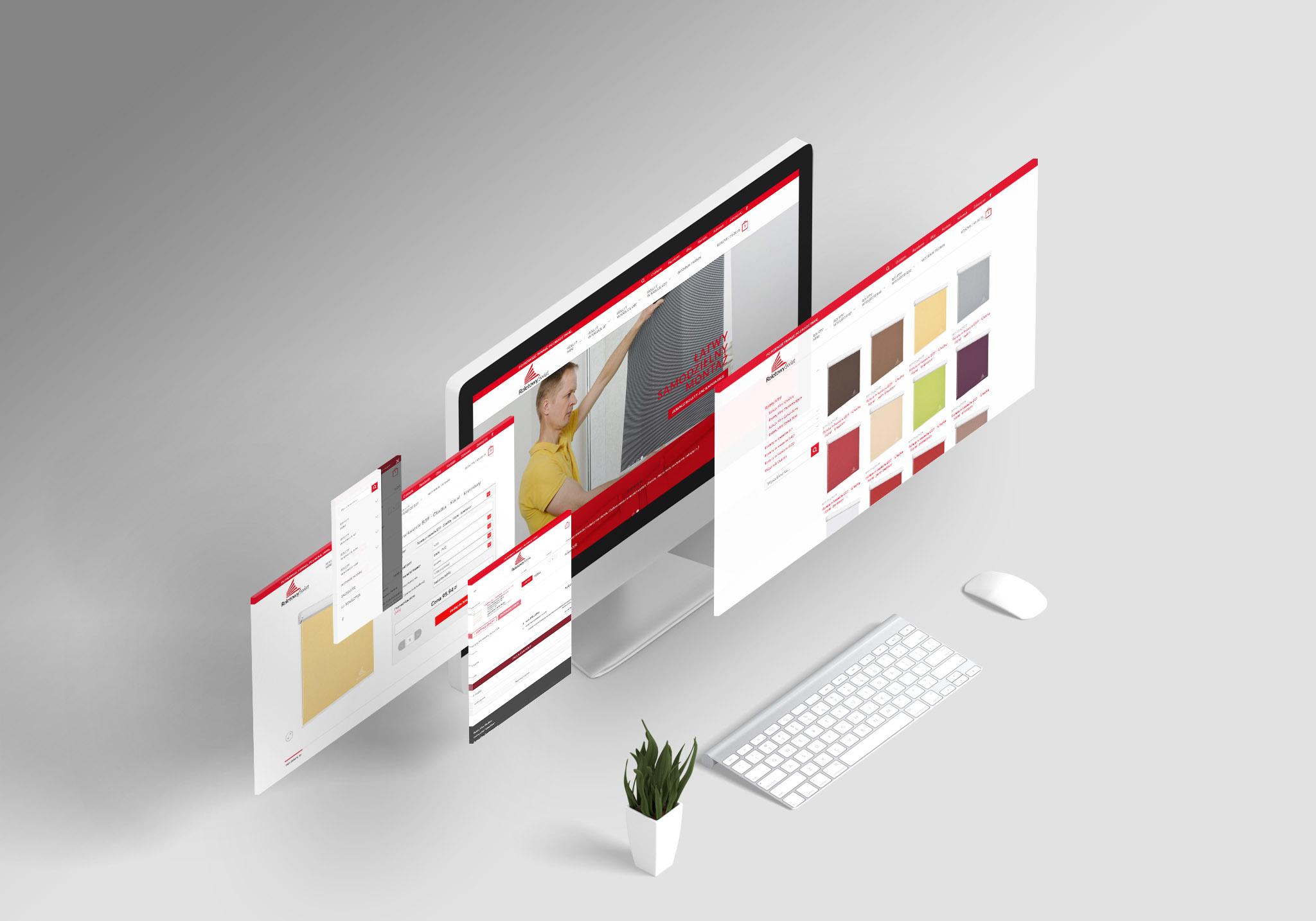 sklep internetowy - projekt i wdrożenie