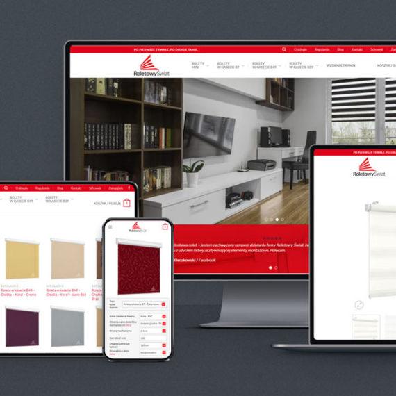 sklep internetowy - strony internetowe