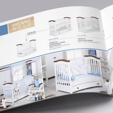 katalog folder z produktami projekt i druk