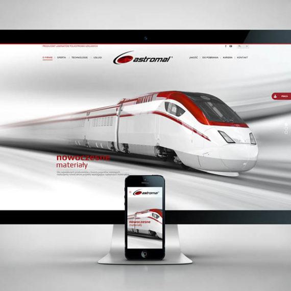 nowoczesna responsywna strona internetowa