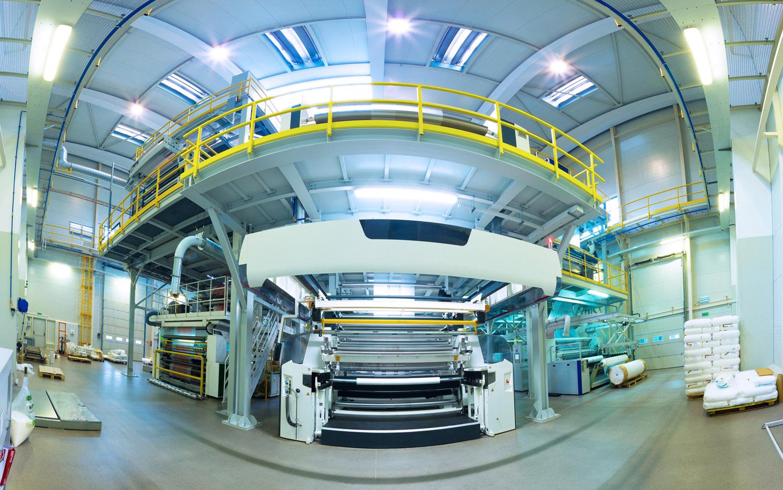 fotograf zdjęcia w fabryce